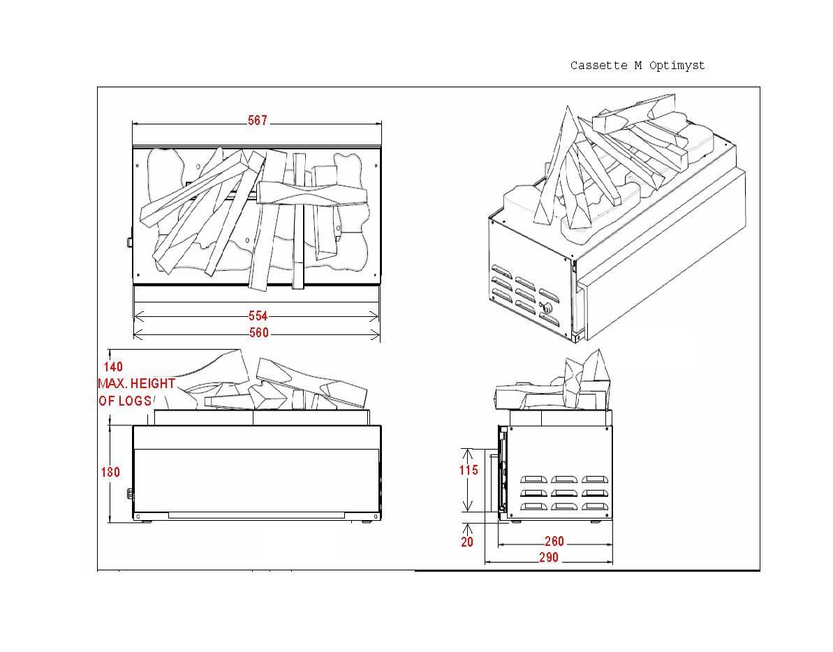 Camini elettrici opti myst 3d glen dimplex italia for Faber camini elettrici